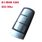 Smart Card for Volkswagen (VW) Magotan 3 Button (433Mhz,A1-ID48 CAN)