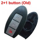 Blank Shell for Nissan,Infiniti,GTR Smart Card 3 Button (Old Models)