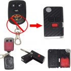 Flip Key Shell Modified for Toyota Corolla 2+1 Button (with 3D Carbon Fiber Sticker)