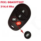 Remote Transmitter for Toyota Sienna 4 Button with Slide Door (314.4Mhz)