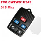 Remote Transmitter for Ford (315Mhz,FCC:CWTWB1U345,5 Button)