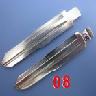 #08 Uncut Blade for Daihatsu Kia Flip Key