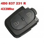 Remote Transmitter 2 Button For Audi 1997-2000 A3 (433Mhz,4D0 837 231 R)