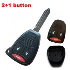 Blank Shell for Chrysler,Dodge,Jeep Remote Key 2+1 Button (Panic,Big)