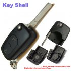 Flip Key Shell for AUDI Remote Transmitter 2 Buttons