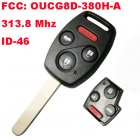 Remote Key for Honda 4 Button (313.8Mhz,ID46,FCC:OUCG8D-380H-A)