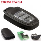 Auto Smart Key for For 2009 Audi A4L,A6L,Q5,Q7 Remote Transmitter 3 Button 8T0 959 754 (C/J)
