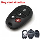 Auto Key Shell for Toyota Cover Remote Transmitter 4 Button