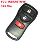 Remote Transmitter for Nissan 3 Button (315Mhz,FCC:KBRASTU15)