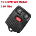 Remote Transmitter for Ford (315Mhz,FCC:CWTWB1U345,3 Button)