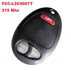 Remote Transmitter for Chevrolet Colorado (315MHz,L2C0007T,2+1 Button)