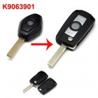 Flip Key Shell Modified for BMW Diamond Remote (3 Button HU92)
