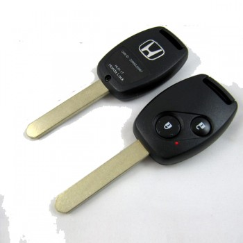 2 Button Remote Key for Honda Accord CRV FIT Odyssey CIVIC