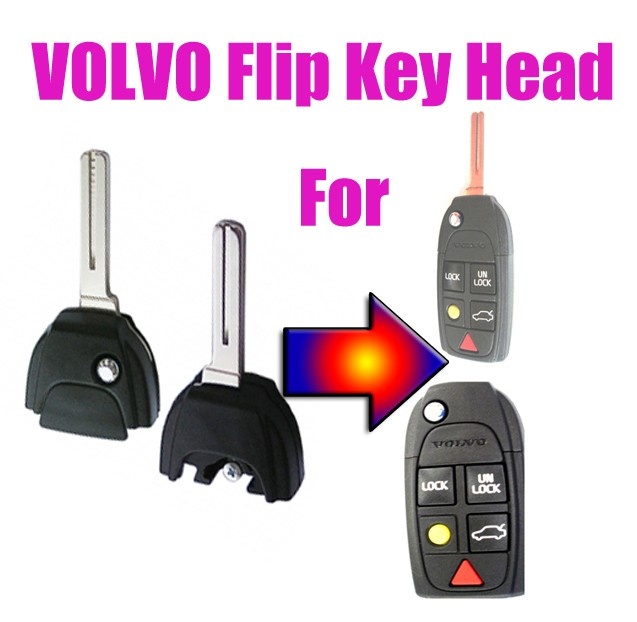 volvo flip key head